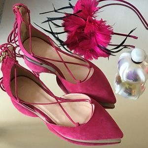 J. Crew Shoes - J.CREW Sadie - Ballet Pumps Fuscia Bloom NWOT